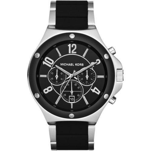 Michael Kors MK8272 Mens Chronograph Black Steel Watch