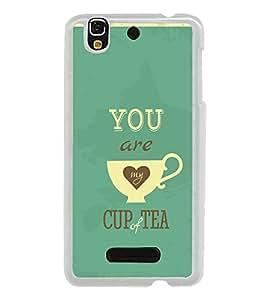 Love Quote 2D Hard Polycarbonate Designer Back Case Cover for YU Yureka :: YU Yureka AO5510