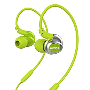Earphones Granvela S1 [4 Core Driver] Sports Outdoor Noise Cancelling Wired Headphones In-ear Stereo Earbuds With Microphone for Iphone, Ipad, Ipod, Samsung, Android Phone,Window Phone (Green)