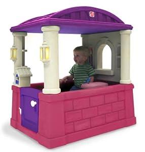 Amazon.com: Step2 Four Seasons Playhouse - Pink/Purple