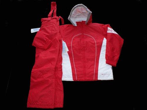 Girls Snowboarding / Ski Suit Red Jacket & Salopettes
