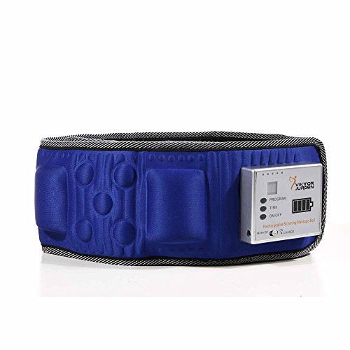 VIKTOR JURGEN Rechargeable Massage Slimming Belt for Men & Women Fitness Waist Wireless Vibration Waist Massager to Weight Loss