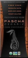 Pascha Organic Dark Chocolate with Cocoa Nibs 3.5oz (Pack of 10) from Pascha