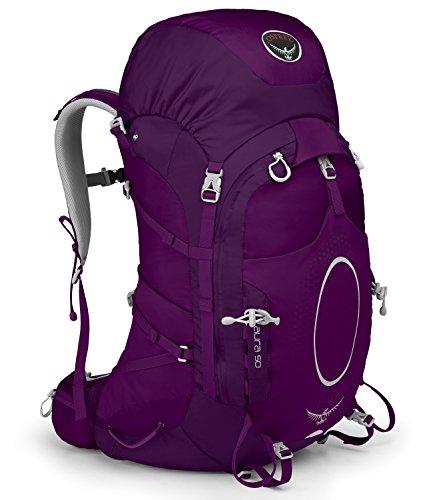 Osprey Aura 50 Backpack (Eggplant Purple, Medium)