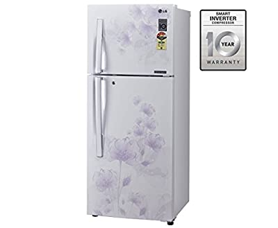 LG GL-D292JPFL Frost-free Double-door Refrigerator (258 Ltrs, 4 Star Rating, Pearl Florid)