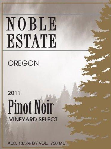 2011 Noble Estate Pinot Noir 750 Ml