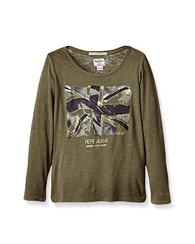 Pepe Jeans London Longsleeve Courts  [Kaki]