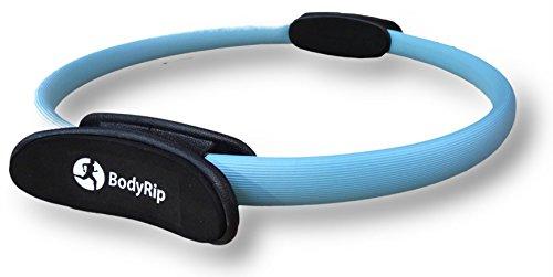 Bodyrip di resistenza per Pilates, doppia impugnatura a anello per aerobica, colore: blu, 16 cm