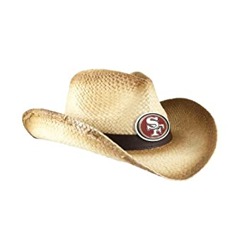 NFL San Francisco 49ers Ladies Cowboy Hat, Ombre by Littlearth