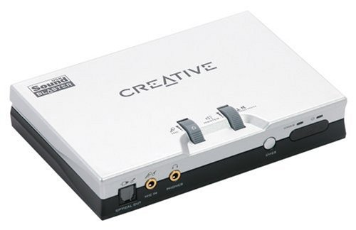 Creative Sound Blaster Live! 24-bit External - Sound card - 24-bit - 96 kHz - 5.1 - USB