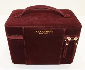 D & G /DOLCE & GABBANA POUR FEMME JEWLERY BOX / VELVET VANITY CASE * NEW