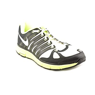 Nike Lunarelite+ 2 White/White-Black-Volt Mens Shoes 429784-110-8.5