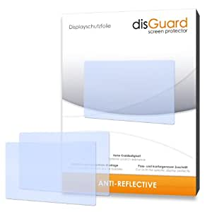 2 x disGuard Anti-Reflective Screen Protector for Sony SLT-A57 / A-57 - PREMIUM QUALITY (non-reflecting, hard-coated, bubble free application)