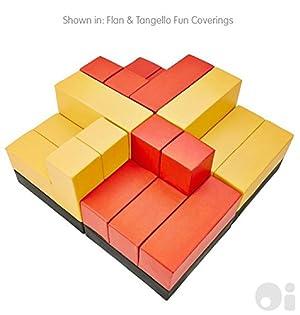 Cellular Colourscape The Pod in Flan & Tangello Fun Coverings