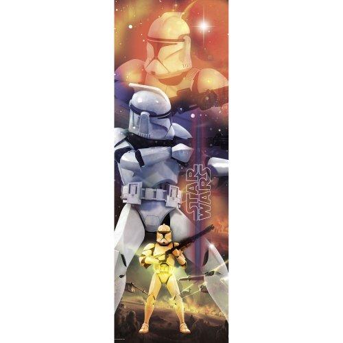 RoomMates RMK1543SLM Star Wars Clone Trooper Peel and Stick Panel