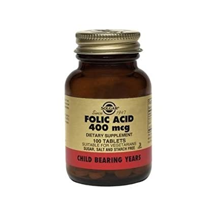 Отзывы Solgar Folic Acid 400 mcg Tablets