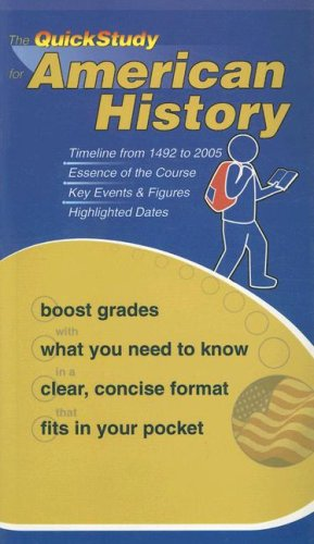 American History Booklet (Quickstudy Books)