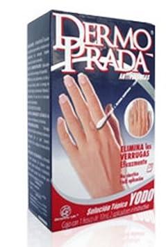 Amazon.com: Dermo Prada Yodo Antiverrugas Remove Warts Skin Tags ...