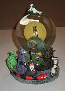 "Tim Burton's ""The Nightmare Before Christmas"" First Snow Globe (Snowglobe) from Disney"