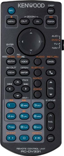 Kenwood Kna-RCDv331 Multimedia IR Remote  Navigation