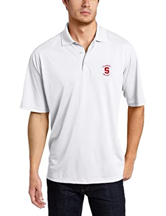 Buy NCAA Stanford Cardinal Pique Xtra Lite Desert Dry Polo Mens by Antigua