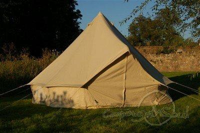 4m Bell Tent Deluxe