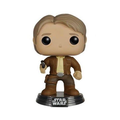 Funko Pop Star Wars: Episodio 7 - Han Solo Figura Di Azione