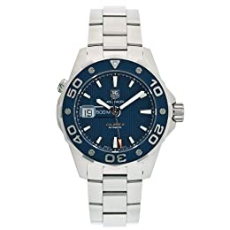 TAG Heuer Men s WAJ2112 BA0870 Aquaracer Calibre 5 Automatic 500M Watch