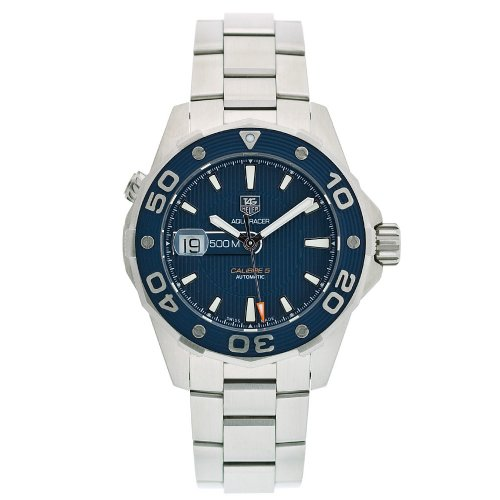 TAG Heuer Men's WAJ2112.BA0870 Aquaracer Calibre 5 Automatic 500M Watch