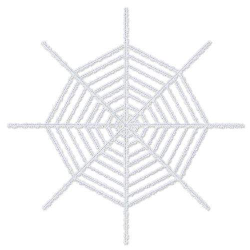 Giant Shimmering Spider Web (white) Party Accessory  (1 count) (1/Pkg)