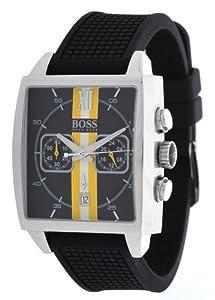 Hugo Boss - 1512732 - Montre Homme - Quartz Analogique - Cadran - Bracelet Silicone Noir