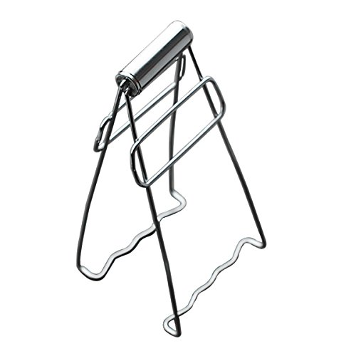 TankeDirect Stainless Steel Folding Dish Clip Tongs for Hot Plate (Flat Hot Plate compare prices)