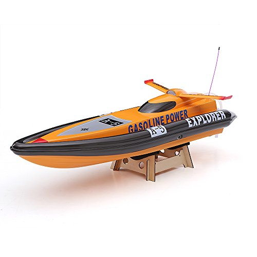 Goolsky VANTEX Explorer 1300GP260 FS-GT2 2.4G Transmitter High Speed 50km/h 26CC Gas Powered RC Racing Boat (Rc Boats Gas compare prices)