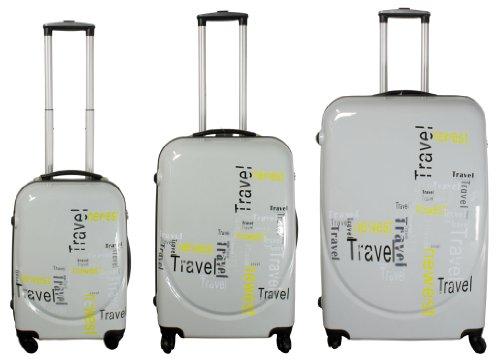 Kofferset Travel 3tlg. - Polycarbonat-ABS - Hartschalenkoffer