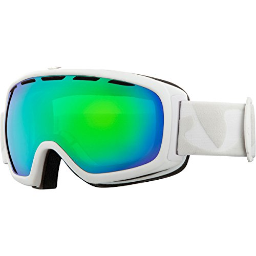 Giro Basis Spherical Lens Goggle (White Icon, Loden Green 26)