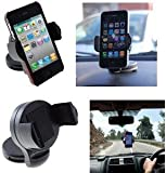 Universal UniSuction 360 In-Car Windscreen Suction Holder Mount for Apple iPhone 3G 3GS 4 4S 5 5S 5C/ iPod Touch 2G, 3G, 4G
