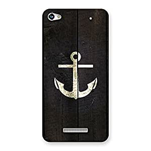 Impressive Bold Anchor Back Case Cover for Micromax Hue 2