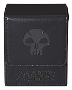 Ultra Pro Magic the Gathering: MTG Mana Magnetic Flip Box (Deck Box / 82773) Black