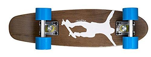 Ridge Skateboards Maple Mini Cruiser- NR1 Skateboard, Blu