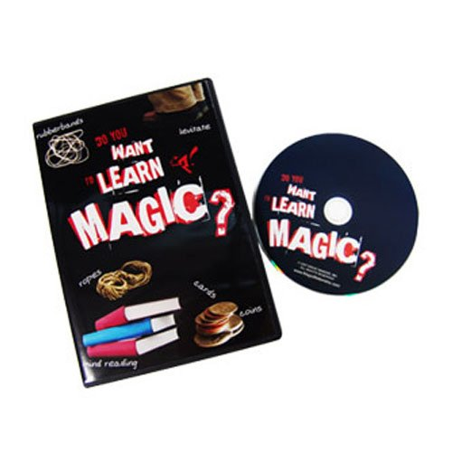 DO YOU WANT TO LEARN MAGIC DVD by Magic Makers