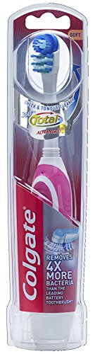 Colgate 360 Battery Toothbrush, Soft