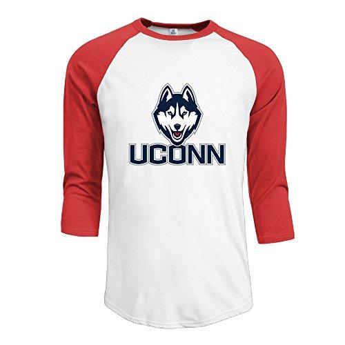 mens-ncaa-uconn-huskies-logo-word-mark-original-100-cotton-3-4-sleeve-athletic-baseball-raglan-shirt