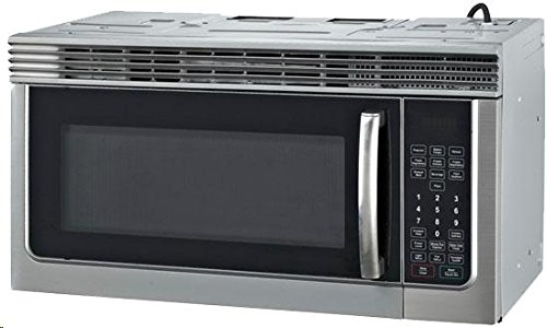 RCA 1.6 Cubic Foot Over The Range Microwave, Stainless Steel Via Amazon