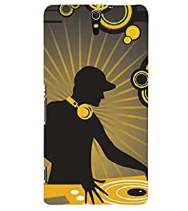 PRINTSHOPPII MUSIC Back Case Cover for Sony Xperia C5 Ultra Dual::Sony Xperia C5 E5553 E5506::Sony Xperia C5 Ultra