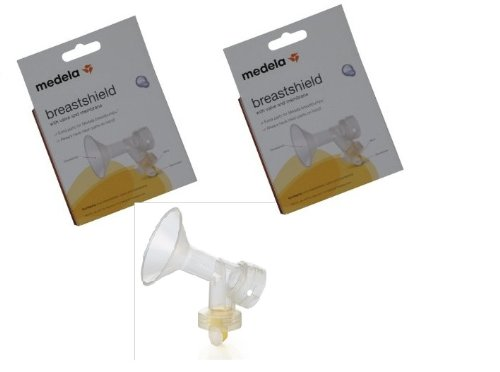 Medela Breastshield With Valve And Membrane front-241339
