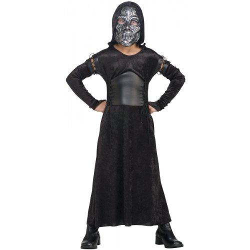 Death Eater Bellatrix Costume - Small front-469061