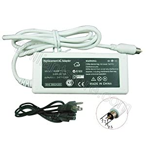 Generic Apple MAC Laptop AC Adapter A1021 for iBook PowerBook G4 (24.5V, 2.65A, 65W)