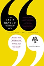 The Paris Review Interviews, I