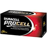 Procell Alkaline Batteries, 9V, 12/Box, Sold as 1 Box, 12 Each per Box