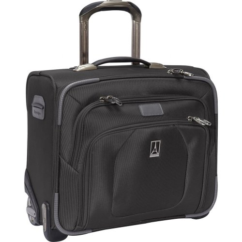 Travelpro Luggage Crew 9 Rolling Tote Bag, Black, One Size top price